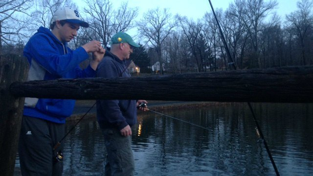Free fishing is available on Father's Day. (WFSB file photo)