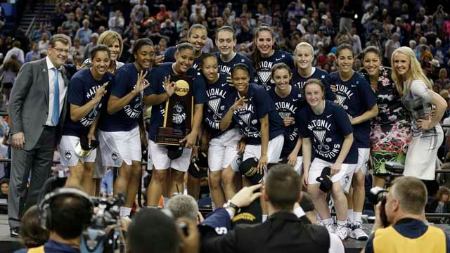 The UConn women's basketball team is getting its own reality show. (AP file photo)