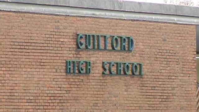 Students at Guilford High School were dismissed early on Wednesday. (WFSB file photo)