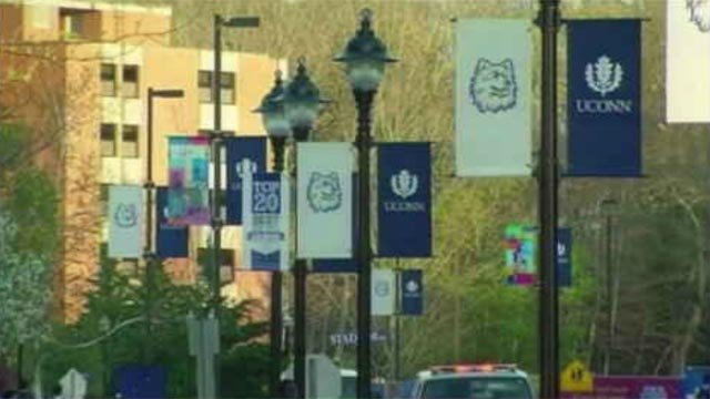 A portion of Hillside Road on the UConn campus will be closed Saturday afternoon.