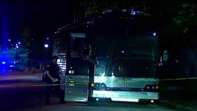 Lil Wayne's tour bus (CNN)