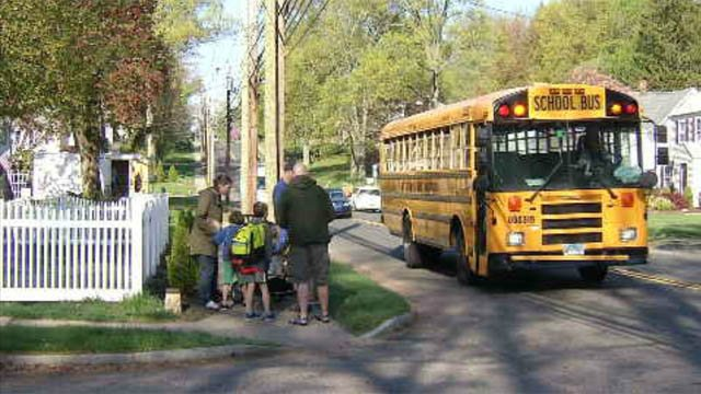Police urge drivers to be aware of students and buses this week. (WFSB)