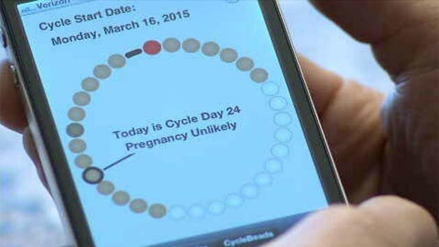 It seems there is a cellphone app for everything, even planning for pregnancy. (WFSB)