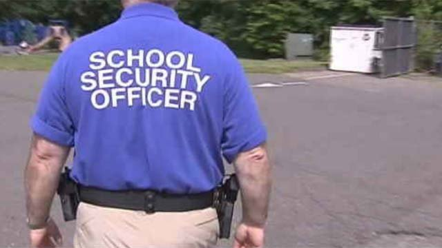 Armed security officers will be present in Region 10 schools next year. Enfield once had armed guards but has since gotten rid of them.  (WFSB)