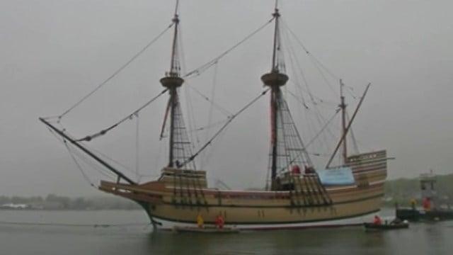 The Mayflower II. (WFSB photo)