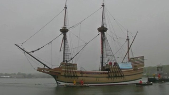 The Mayflower II. (WFSB photo)