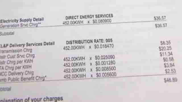CT lawmakers target electric rates (WFSB)