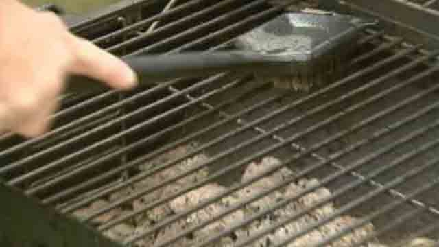 Doctors warn about using wire-bristled grill brushes