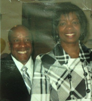 Pastor Sealy and his wife