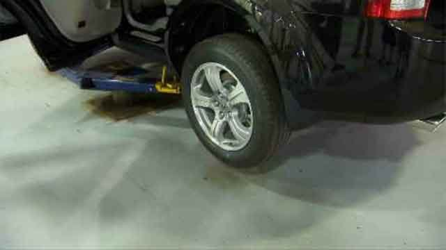Product can help track car part thieves (WFSB)