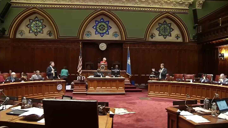 The state Senate passed the budget late Wednesday night. (WFSB photo)