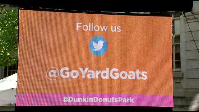 Follow the Yard Goats on Twitter @GoYardGoats. (WFSB)