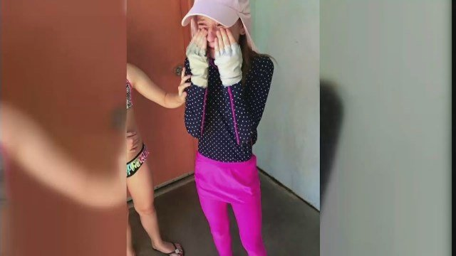 Savannah Fulkerson was reduced to tears after being denied by Six Flags. (CBS photo)