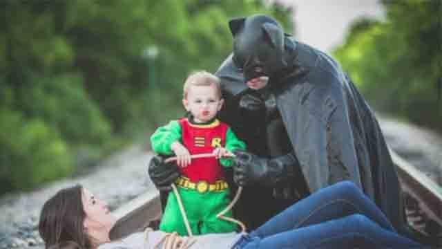 Father's Day photo shoot goes viral, draws criticism (CNN)