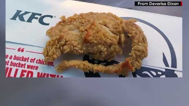 Man claims he found a deep-friend rat in box of chicken tenders (CNN)