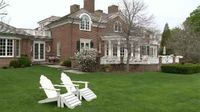 A candle closet and two-story library are just the beginning of what is found inside of one New Canaan home. (WFSB)