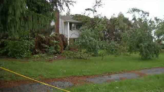Microburst confirmed in North Haven (WFSB)