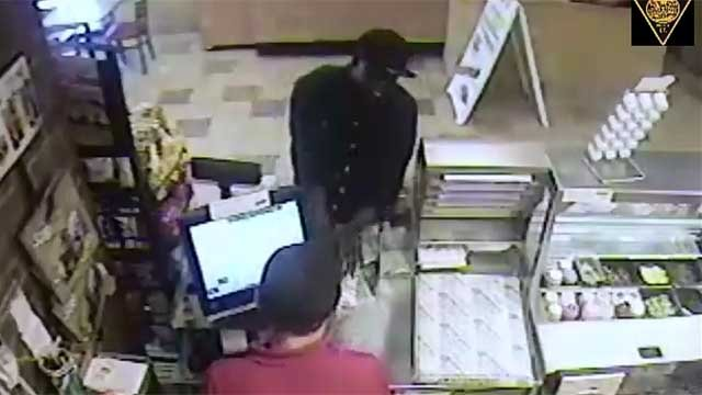 Suspect sought after armed robbery at Bridgeport Subway (Bridgeport police)