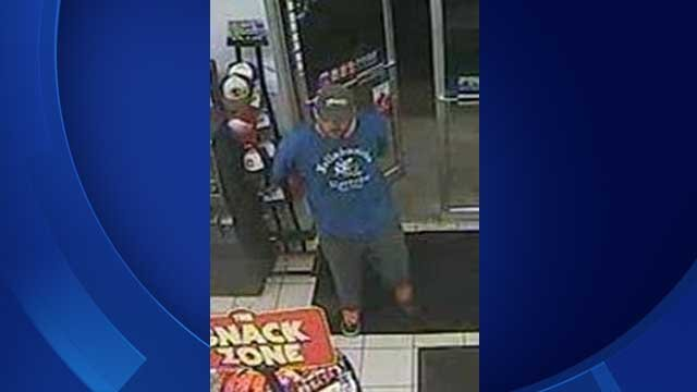 Suspect sought in Durham gas station robbery (State Police)