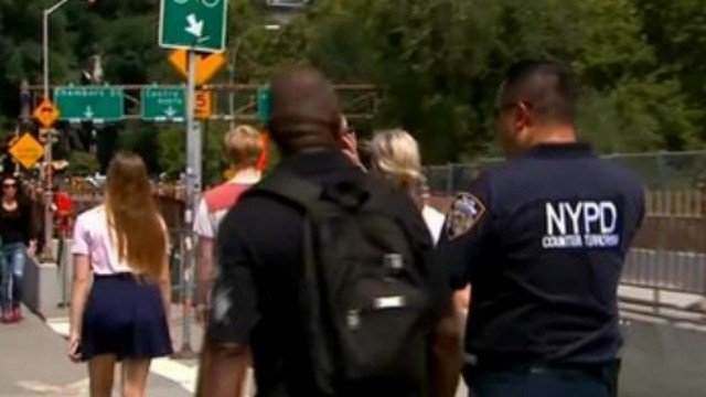 Authorities are on high alert amid a terror warning for July 4th weekend. (CBS News)