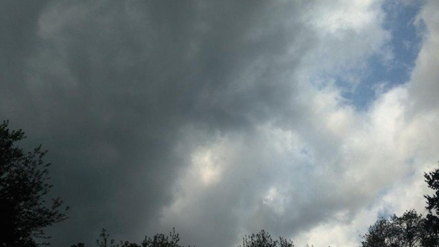 Dark clouds crept over Sterling Wednesday afternoon. (iWitness photo)