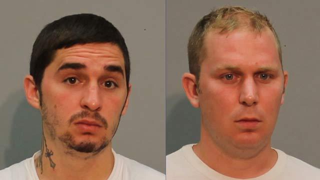 Wesley and David Zaino. (Vernon police photos)