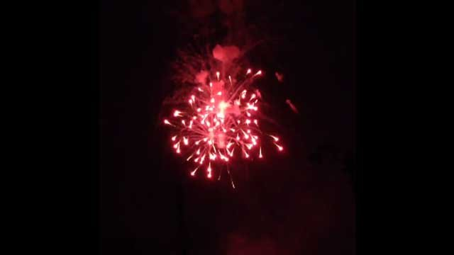 Crowds kick off Fourth of July weekend with fireworks in Meriden (WFSB)