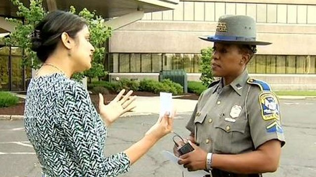 Connecticut State Police discuss increased patrols planned for this holiday weekend. (WFSB)