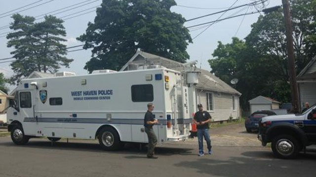 Connecticut State Police were at this home of interest in West Haven and it is related to the Hamden deadly explosion. (WFSB)