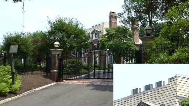 Air conditioning units heating things up at the governor's mansion (WFSB)