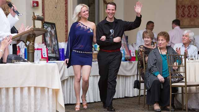 Celebrity Contest for Dancing with the Stars Contest - Mark Zinni with Sally Natsatka.