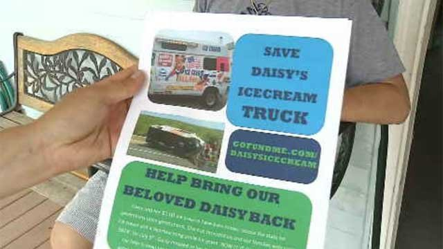 Community helps ice cream driver whose truck was damaged in weekend crash (WFSB)