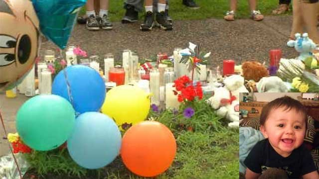 Hundreds gathered to remember Middletown baby found dead in river. (WFSB)