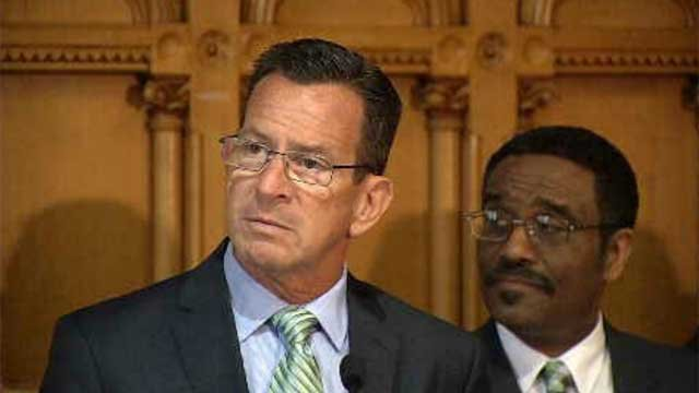 WFSB file photo of Gov. Dannel Malloy