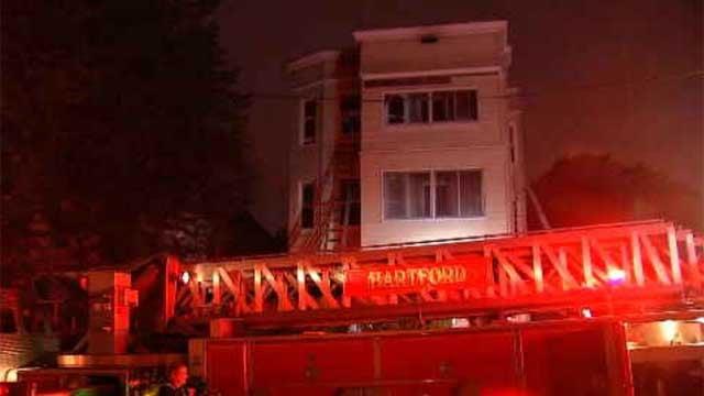 Hartford investigators called Thursday night's fire 'suspicious' (WFSB)