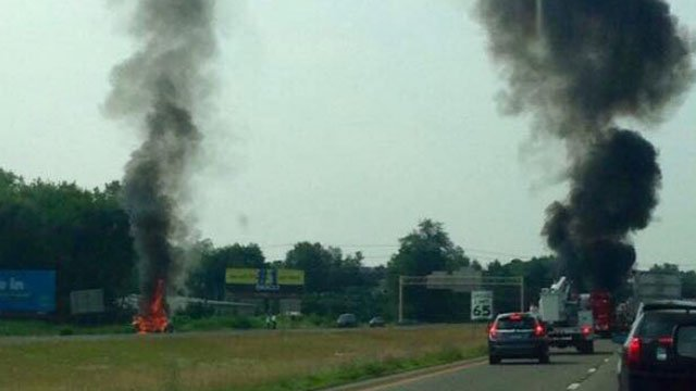 "WFSB viewer Klejdja Qosja took this photo of the scene and called it ""A very chilling sight."""