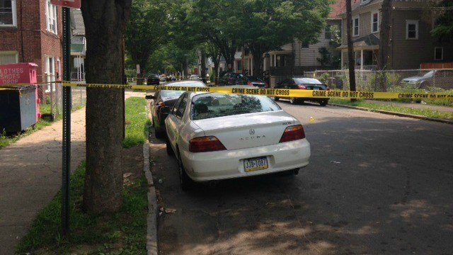 A 19-year-old was shot in the buttocks in New Haven on Monday morning. (WFSB)