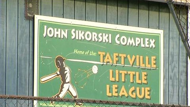 Recent vandalism reported at John Sikorski Complex in Norwich. (WFSB)