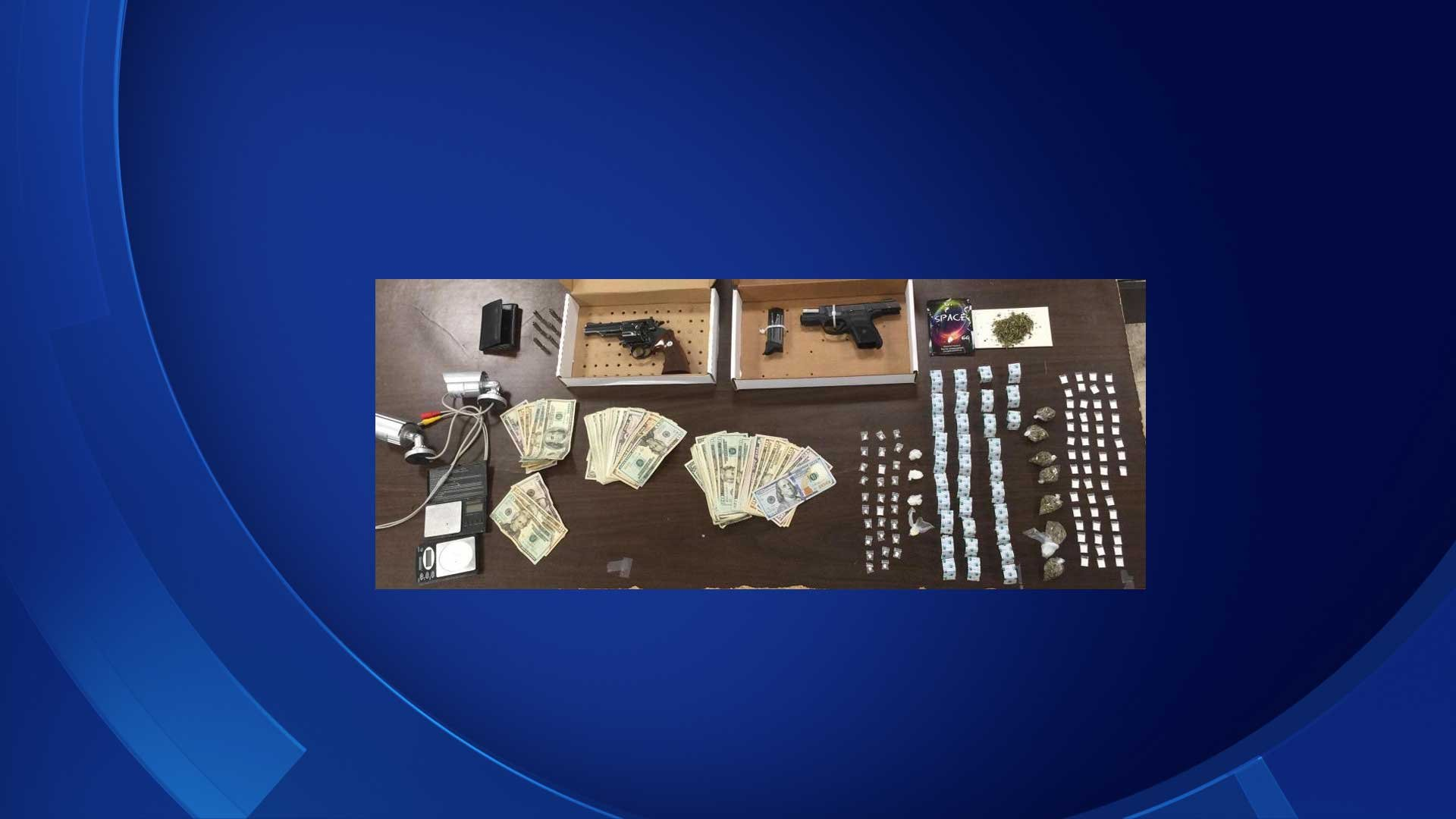 The following items were seized by Hartford police from an illegal boarding house. (Hartford police)