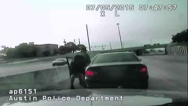 Officer saves woman from choking during traffic stop (CNN)