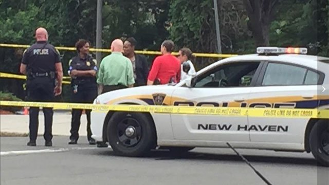 Court and State streets were blocked off for the investigation. (WFSB)