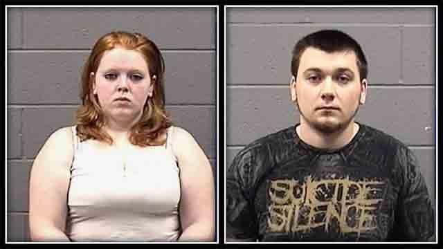 Kali Sastrum, 18, and Nikolas Radaskie, 21 were both charged with risk of injury to a minor. (Waterbury police)