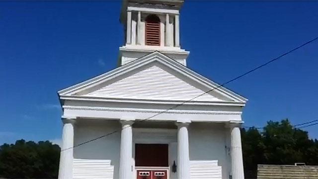 The bells are ringing again at the Jewett City Baptist Church. (WFSB)