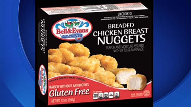 Stop & Shop alerted customers on Thursday to a voluntary recall of a gluten free chicken nugget. (Bell & Evans)