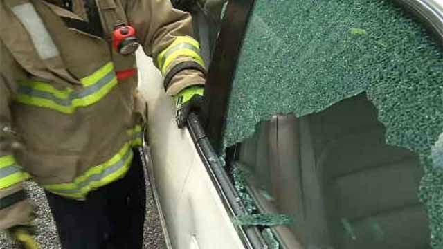 First responders practice rescuing human, pet from hot car (WFSB)