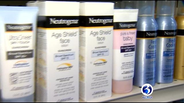 One CT doctor told WFSB there is really no benefit to choosing a SPF above 30, but to make sure to reapply every couple of hours. (WFSB)