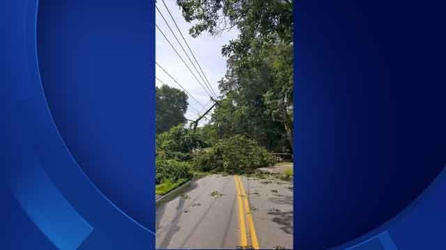 Electrical emergency closes Roxbury Road in East Lyme (East Lyme Public Safety)