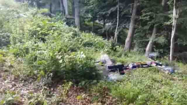Gun-firing drone produced in Connecticut went viral online. (Youtube photo)