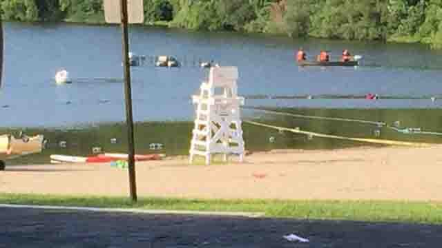 Crews search for possible missing swimmer in Fairfield lake (WFSB)