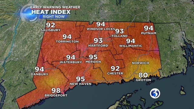 See what it feels like in your area. (WFSB Graphic)